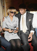 l to r: Mary J. Bldge and Kendo at The Dream's Black Tie Album Release Party held at The Hiro Ballroom on March 11, 2008 in New York City.  ..The Dream- Platinum-selling, award-winning, R&B Recording Artist, Writer and Producer, whose sophomore album, Love vs. Money, out NOW!