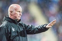 Falkirk's manager Peter Houston.Falkirk 1 v 3 Rangers, Scottish League Cup game played 23/9/2014 at The Falkirk Stadium.