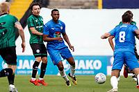Nyal Bell. Stockport County FC 0-1 Rochdale FC. Pre Season Friendly. 22.8.20