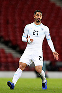 Beram Kayal (21) (Brighton and Hove Albion)of Israel during the UEFA Nations League match between Scotland and Israel at Hampden Park, Glasgow, United Kingdom on 20 November 2018.