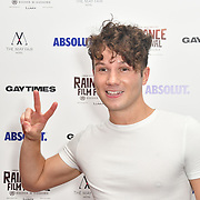 Olly Pike attends Raindance Film Festival Gay Times Gala screening - George Michael: Freedom (The Director's Cut) London, UK. 4th October 2018.