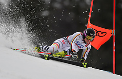 14.02.2019, Gaestrappet, Aare, SWE, FIS Weltmeisterschaften Ski Alpin, Riesenslalom, Damen, 1. Lauf, im Bild Marlene Schmotz (GER) // Marlene Schmotz (GER) in action during her 1st run of ladie's Giant Slalom of FIS Ski World Championships 2019. Gaestrappet in Aare, Sweden on 2019/02/14. EXPA Pictures © 2019, PhotoCredit: EXPA/ SM<br /> <br /> *****ATTENTION - OUT of GER*****