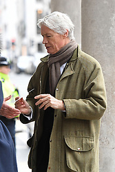 Richard Kay, royal reporter for the Daily Mail, arriving at the Grosvenor Chapel in London's Mayfair for a memorial service to commemorate the life of Raine Spencer, the stepmother of Diana, Princess of Wales, who died last month aged 87 after a short illness.