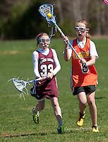 Lakes Region Lacrosse U11 girls versus Concord May 1, 2011.