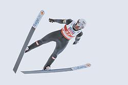 04.03.2021, Oberstdorf, GER, FIS Weltmeisterschaften Ski Nordisch, Oberstdorf 2021, Herren, Nordische Kombination, Einzelbewerb, Skisprung HS 137, im Bild Lukas Klapfer (AUT) // Lukas Klapfer (AUT) during a trainings session for the ski Jumping HS 137 Competition of men Nordic combined Single of FIS Nordic Ski World Championships 2021 in Oberstdorf, Germany on 2021/03/04. EXPA Pictures © 2021, PhotoCredit: EXPA/ JFK