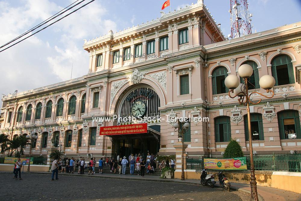 Vietnam, Ho Chi Minh City, (Saigon), Old Post Office
