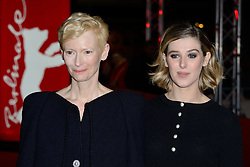 Tilda Swinton and her daughter Honor Swinton-Byrne attending The Souvenir Premiere as part of the 69th Berlin International Film Festival (Berlinale) in Berlin, Germany on February 12, 2019. Photo by Aurore Marechal/ABACAPRESS.COM