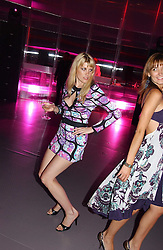 MEREDITH OSTROM at the Serpentine Gallery Summer party sponsored by Yves Saint Laurent held at the Serpentine Gallery, Kensington Gardens, London W2 on 11th July 2006.<br />