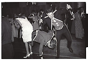 SAMANTHA BARKER; THOMAS ASSHETON, Commissioning Ball, Sandhurst. 5 August 1983,