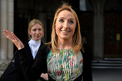 Widow Beth Warren leaves The High Court, London, UK, after winning her fight with the High Court to preserve her late husband's sperm.<br /> Thursday, 6th March 2014. Picture by Ben Stevens / i-Images