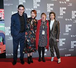 The Scottish Premiere of Wild Rose<br /> <br /> Pictured: James Harkness, Jessie Buckley, Allison Gardner (festival director) and Nicole Taylor (writer)<br /> <br /> (c) Aimee Todd | Edinburgh Elite media
