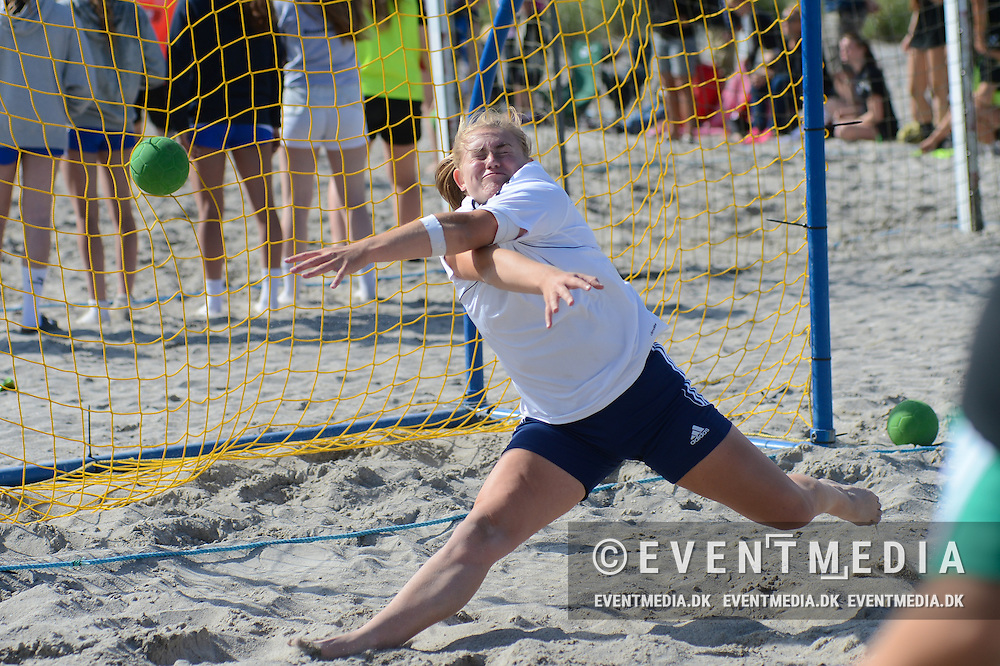 DM-finalestævne i beach handball på Rødbillet Beach Tour 2016 på Kerteminde Nordstrand, 18.6.2016. (EVENTMEDIA).