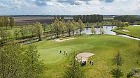GOES - Golfbaan De Goese Golf vanuit de lucht. ,   op Zuid-Beveland, COPYRIGHT  KOEN SUYK