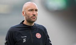 Cheftræner Jacob Friis (AaB) under kampen i 3F Superligaen mellem FC København og AaB den 17. juni 2020 i Telia Parken, København (Foto: Claus Birch).