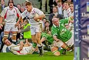 Twickenham. Surrey, UK., 16th February 2002, Six Nations International Rugby,  RFU Stadium, England vs Ireland,  [Mandatory Credit: Peter Spurrier/Intersport Images],<br /> <br /> The Lloyds TSB Six Nations Championship<br /> England v Ireland<br /> RFU - Twickenham<br /> 16/02/2002, Ben COHEN,
