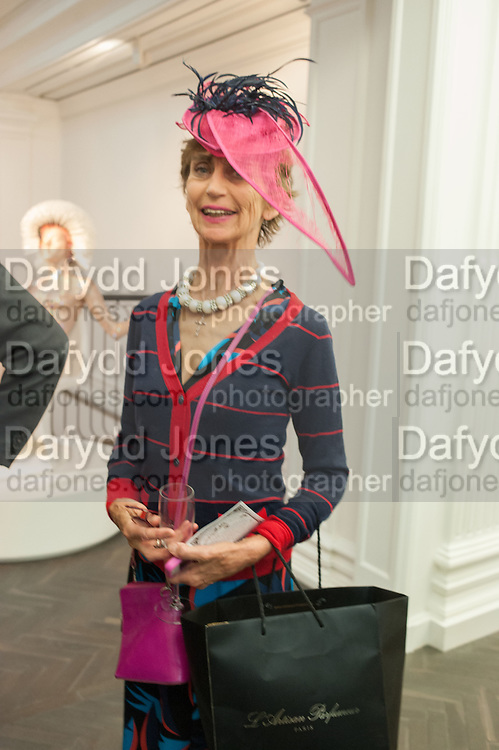 LADY HENRIETTA ROUS, Vogue's Fashion night out special opening of the Halcyon Gallery.  New Bond St. London. 6 December 2012.