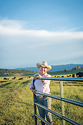 Joan Marsted of Panther Ranch in Donnelly, Idaho
