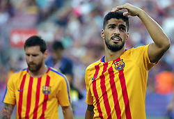 August 7, 2017 - Barcelona, Spain - Luis Suarez during the friendy Joan Gamper trophy match between F.C. Barcelona v Chapecoense, in Barcelona, on August 07, 2017. Photo: JoanValls/Urbanandsport/Nurphoto  (Credit Image: © Urbanandsport/NurPhoto via ZUMA Press)
