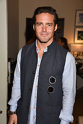 Spencer Matthews at the Rosie Fortescue Jewellery Launch, Brown's Hotel London England. 10 May 2017.<br /> Photo by Dominic O'Neill/SilverHub 0203 174 1069 sales@silverhubmedia.com