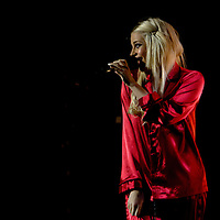 Pixie Lott performing live on the final night of her UK Crazy Cats Tour at O2 Manchester Apollo, United Kingdom, 2010-12-18