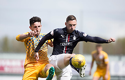 Falkirk's Bob McHugh. <br /> Falkirk 1 v 0 Morton, Scottish Championship game  played 1/5/2016 at The Falkirk Stadium.