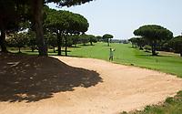 SANCTI PETRI-SPANJE - IBEROSTAR  Real Novo Sancti Petri Golf Club  . Hole 8.   COPYRIGHT KOEN SUYK