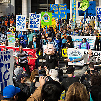 Oakland, CA Protest against Big Oil's Funding Climate Denial and against Fracking | Political Theatre | Frank Ozawa Plaza | Climate Stories | Conservation Photographer <br /> <br /> Drew Bird Photography <br /> San Francisco Freelance Photographer <br /> Have Camera. Will Travel.