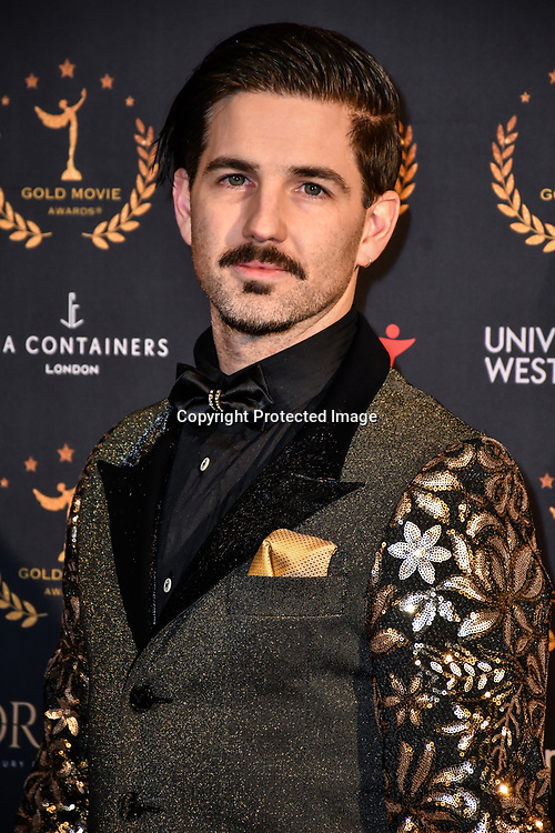 Jason Matthewson arrivers at Gold Movie Awards at Regents Street Theatre, on 9th January 2020, London, UK.