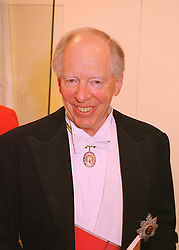 LORD ROTHSCHILD at a dinner in London on 27th May 1998.MHX 54