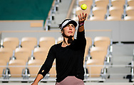Bianca Andreescu of Canada during practice ahead of the Roland-Garros 2021, Grand Slam tennis tournament, Qualifying, on May 28, 2021 at Roland-Garros stadium in Paris, France - Photo Rob Prange / Spain ProSportsImages / DPPI / ProSportsImages / DPPI