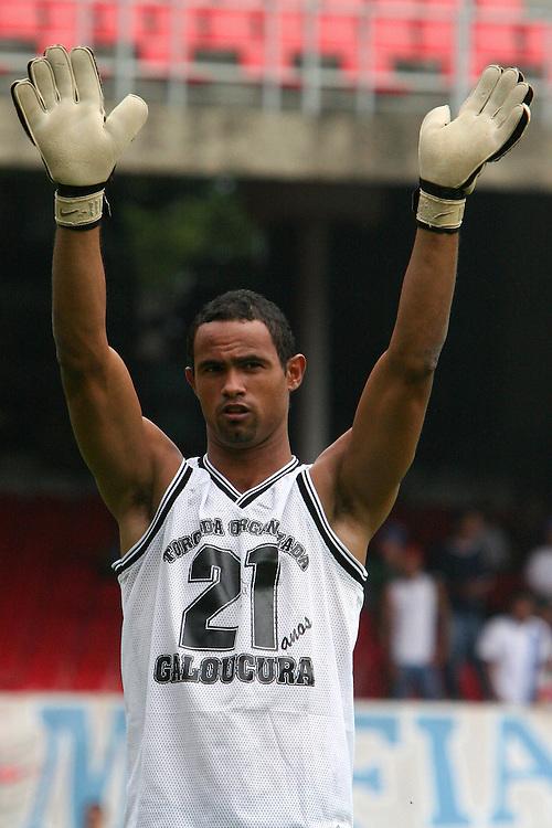 Belo Horizonte, 19 de marÁo de 2006..Fotos campeonato mineiro entre atleticoxcruzeiro. Na foto o goleiro do Atletico, Bruno Fernandes.