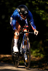 Clara Copponi of DDJ Nouvelle-Aquitaine Futuroscope during the Stage Three Individual Time Trial of the AJ Bell Women's Tour in Atherstone, UK. Picture date: Wednesday October 6, 2021.