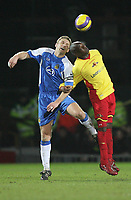 Photo: Marc Atkins.<br /> Watford v Wigan Athletic. The Barclays Premiership. 21/02/2007.