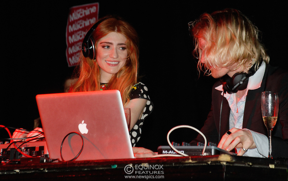 London, United Kingdom - 5 June 2011.Girls Aloud band member Nicola Roberts DJ'ing to launch her new single Beat Of My Drum at the Hoxton Square Bar and Kitchen, Shoreditch, London, England, UK. .Copyright: ©2011 Equinox Licensing Ltd. +448700 780000.Contact: Equinox Features.Date Taken: 20110605.Time Taken: 004050+0000.www.newspics.com