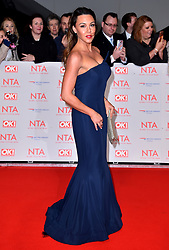 Michelle Heaton attending the National Television Awards 2018 held at the O2 Arena, London. PRESS ASSOCIATION Photo. Picture date: Tuesday January 23, 2018. See PA story SHOWBIZ NTAs. Photo credit should read: Matt Crossick/PA Wire