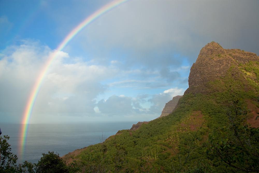 Napali Coast.  Kauaii.  Hawaii. December, 2012.