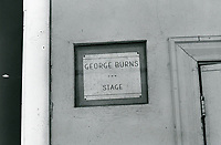 1987 George Burns' Stage at Hollywood Center Studios