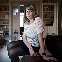 Nederland, Amsterdam , 2 september 2011..Nine Pankras (31)? Zij is redacteur van Pauw & Witteman en schreef het boek 'Hoe ik mijzelf halveerde en de anorexia weer te boven kwam'..Foto:Jean-Pierre Jans