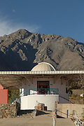 Mamalluca Observatory entrance with steps, Vicuna, Chile