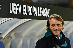 December 7, 2017 - San Sebastian, Guipuzcoa, Spain - Roberto Mancini, head coach of Zenit, during the UEFA Europa League Group L football match between Real Sociedad and Zenit at the Anoeta Stadium, on 7 December 2017 in San Sebastian, Spain  (Credit Image: © Jose Ignacio Unanue/NurPhoto via ZUMA Press)