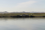 Iceland, Borgarfjordur, landscape