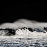 waves crashing after a storm
