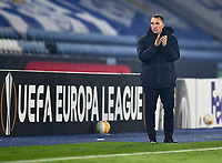 Football - 2020 / 2021 Europa League - Group G - Leicester City vs Sporting Braga - King Power Stadium<br /> <br /> Leicester City manager Brendan Rodgers.<br /> <br /> COLORSPORT/ASHLEY WESTERN