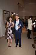 MOLLIE DENT-BROCKLEHURST; RICHARD HUDSON, The Neo Romantic Art Gala in aid of the NSPCC. Masterpiece. Chelsea. London.  30 June 2015
