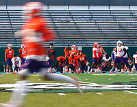 December 30, 2017; Yulman Stadium, New Orleans, Louisiana, USA; Allstate Sugar Bowl: Clemson Tigers Practice;  <br /> <br /> Photo credit: Kelley L Cox- KLC fotos