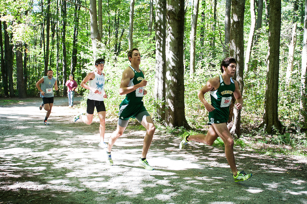 University of Vermont cross country running meet at Red Rocks on Saturday September 26, 2015 in Burlington, Vermont.