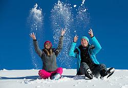 Toper winter collection 2016/17, on December 20, 2016, at Krvavec ski resort, Slovenia. Photo by Vid Ponikvar / Sportida