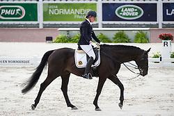 Ciska Vermeulen, (BEL), Whooney Tunes - Team Competition Grade IV Para Dressage - Alltech FEI World Equestrian Games™ 2014 - Normandy, France.<br /> © Hippo Foto Team - Jon Stroud <br /> 25/06/14