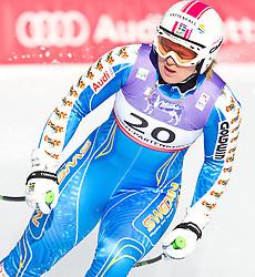 08.02.2011, Kandahar, Garmisch Partenkirchen, GER, FIS Alpin Ski WM 2011, GAP, Lady Super G, im Bild Anja PAERSON (SWE) // Anja PAERSON (SWE) during Women Super G, Fis Alpine Ski World Championships in Garmisch Partenkirchen, Germany on 8/2/2011, 2011, EXPA Pictures © 2011, PhotoCredit: EXPA/ J. Feichter