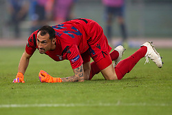 September 20, 2018 - Rome, Lazio, Italy - 20th September 2018, Stadio Olimpico, Rome, Italy; UEFA Europa League football, Lazio versus Apollon Limassol; goalkeeper Silvio Proto of Lazio  Credit: Giampiero Sposito/Pacific Press (Credit Image: © Giampiero Sposito/Pacific Press via ZUMA Wire)